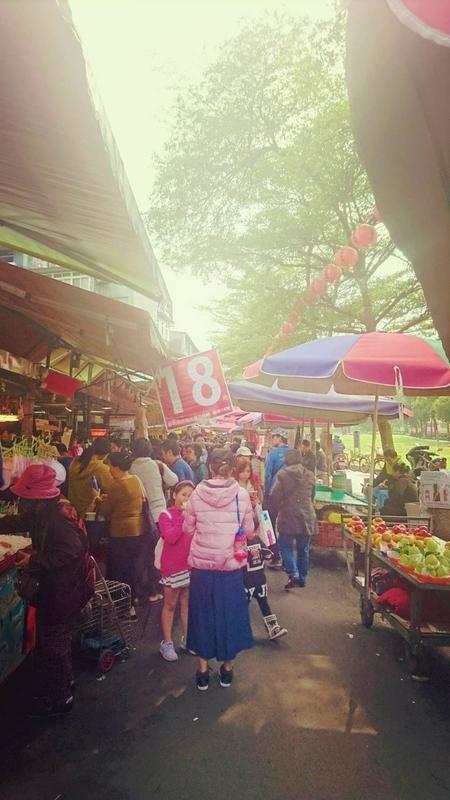 台湾文化人情味満載な台湾市場3