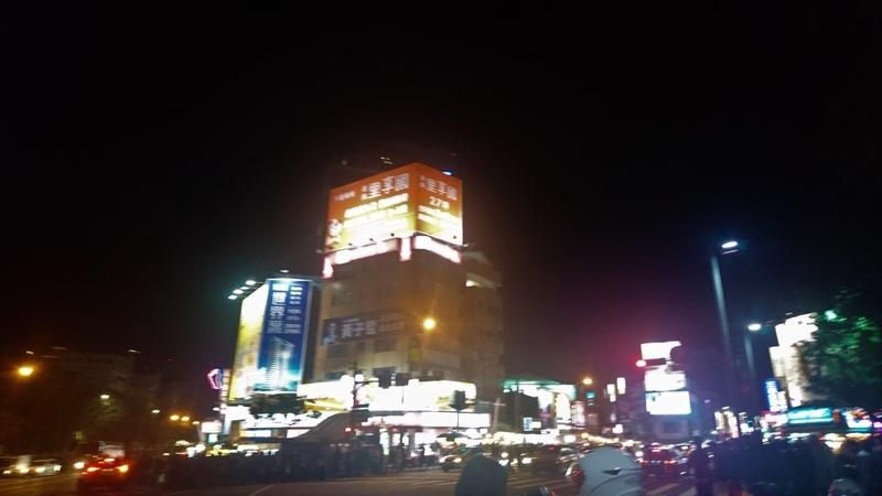 剣潭駅士林夜市グルメ1