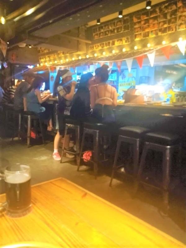 中山駅グルメ乾杯焼肉2