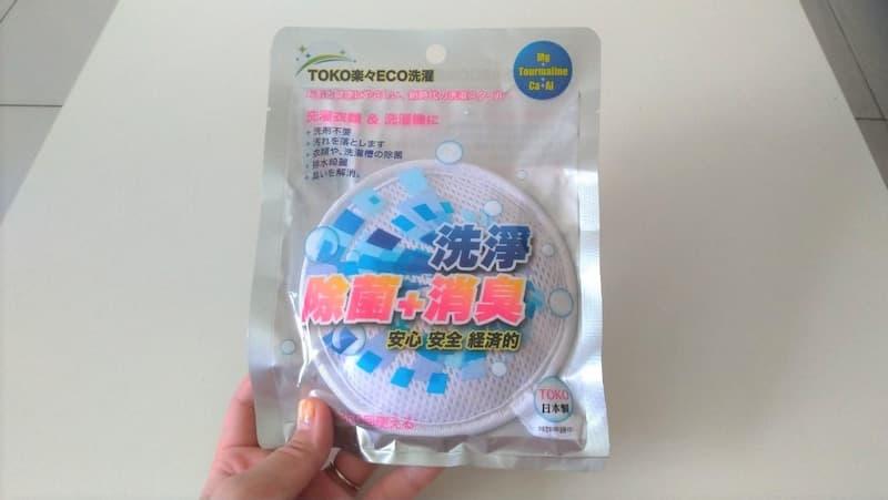 台湾洗剤TOKO楽々ECO洗濯1