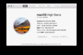 macOS High Sierra Version 10.13.4