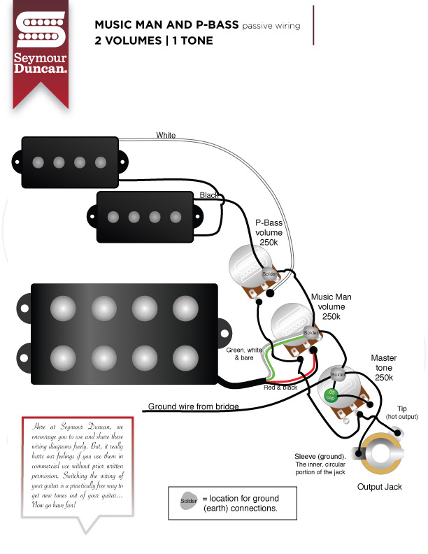 Music Man Seymour Duncan Wiring Diagrams Wiring Diagrams Second