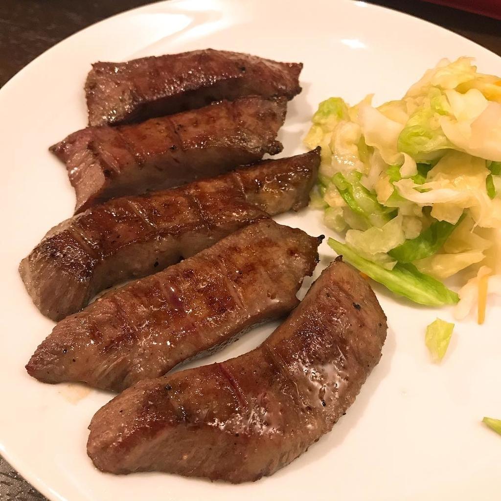 牛たん料理 閣 たん焼き