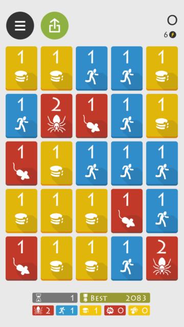 レベルス ゲーム画面