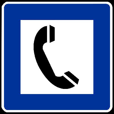 受話器のアイコン