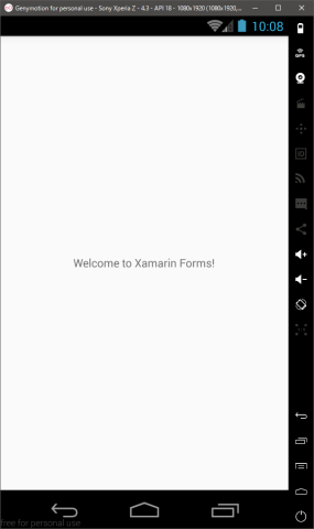 Xamarin HellowWorld
