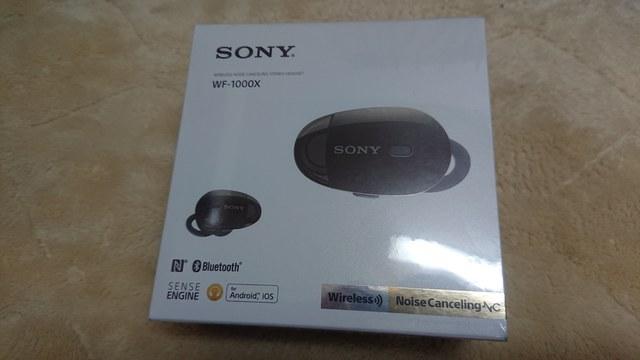 SONY WF-1000X パッケージ