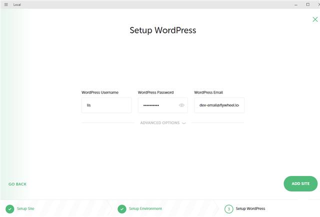 WordPressのセット設定