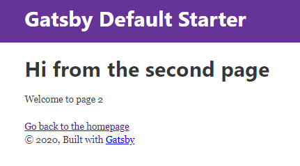 Gatsby 2ページ目