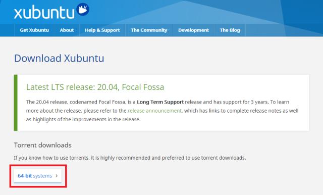 XubuntuのTorrentファイルダウンロード