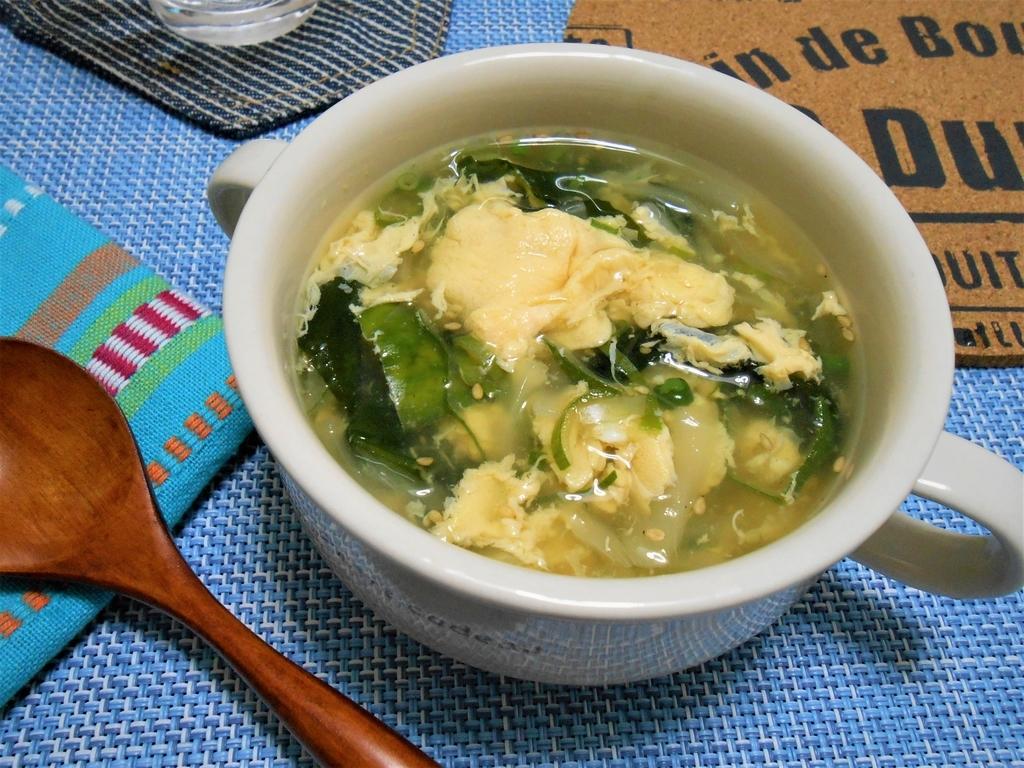 とろみ 卵 スープ