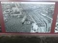 「上空から見た青森駅。昭和44(1969)年」