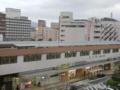 宿から松江駅を臨む