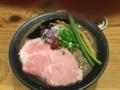 東生駒のらーめん一望で食べた超こってりラーメン。色物かと思いきや