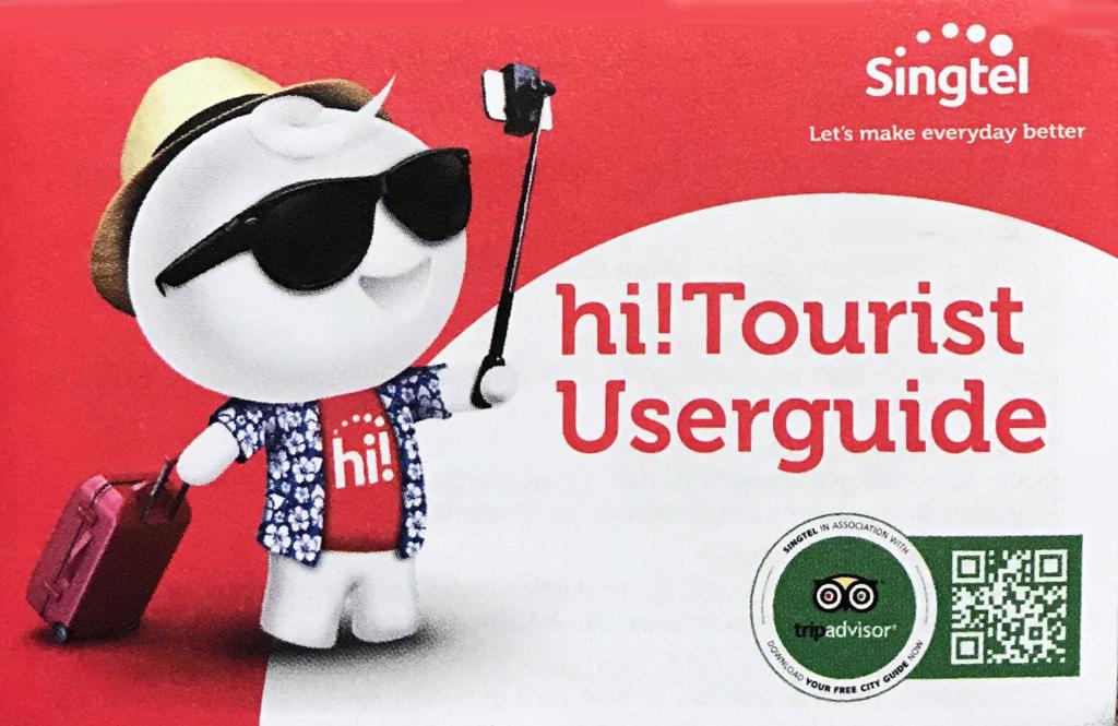 Singtel Tourist SIM