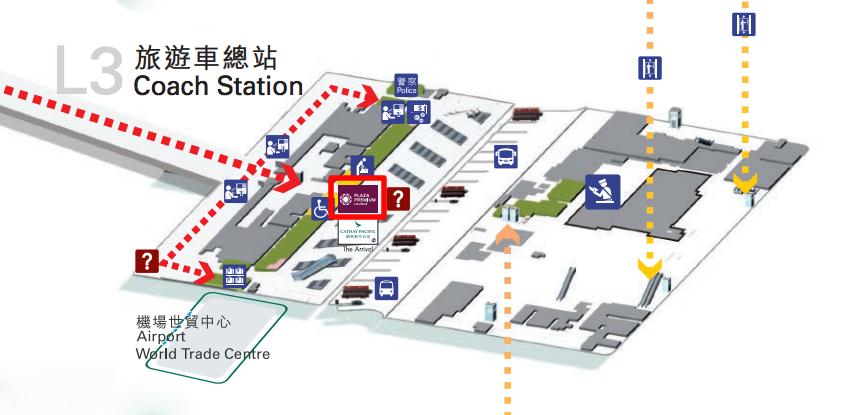 Lounge Map Terminal2