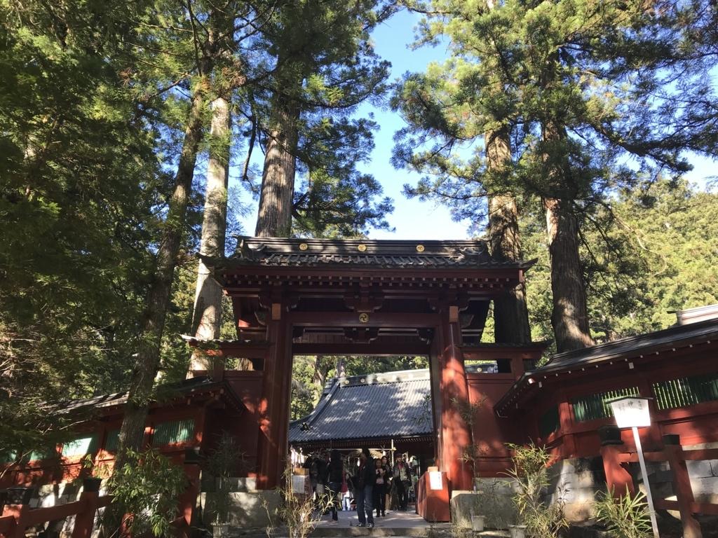 二荒山神社神門