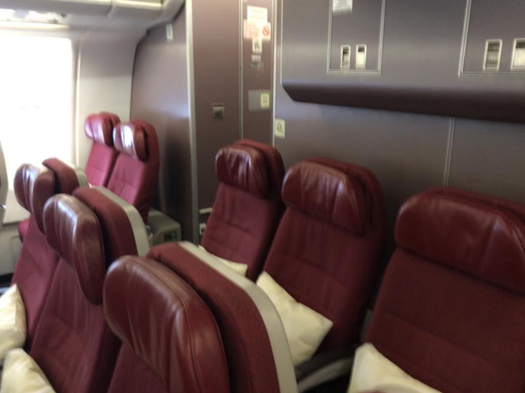 マレーシア航空エコノミークラス
