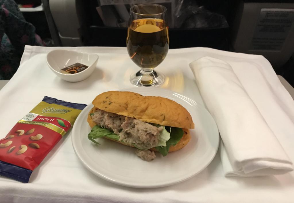 マレーシア航空サンドイッチ