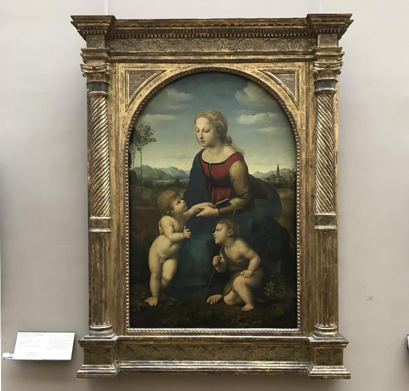 聖母子と幼き洗礼者聖ヨハネ