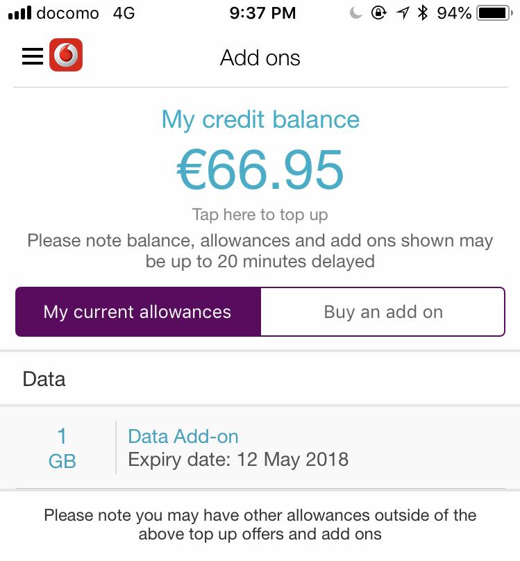 Vodafone Addon
