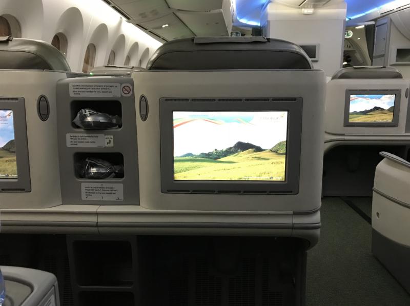 エチオピア航空機内2