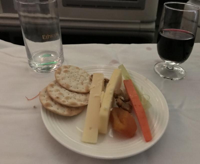 エチオピア航空機内食4