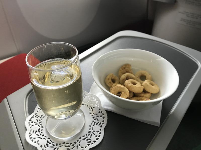 エチオピア航空機内食5