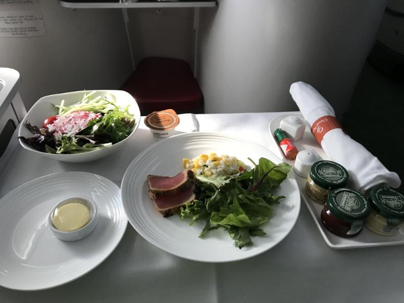 エチオピア航空機内食6