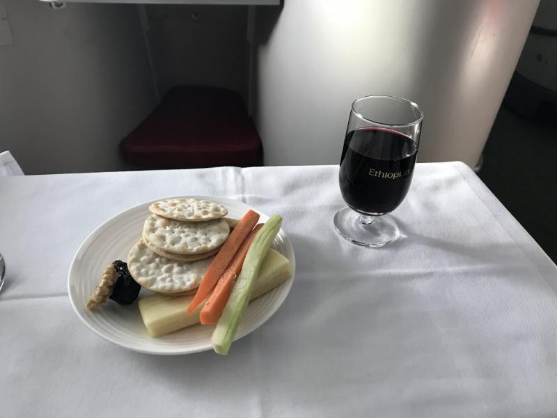 エチオピア航空機内食8