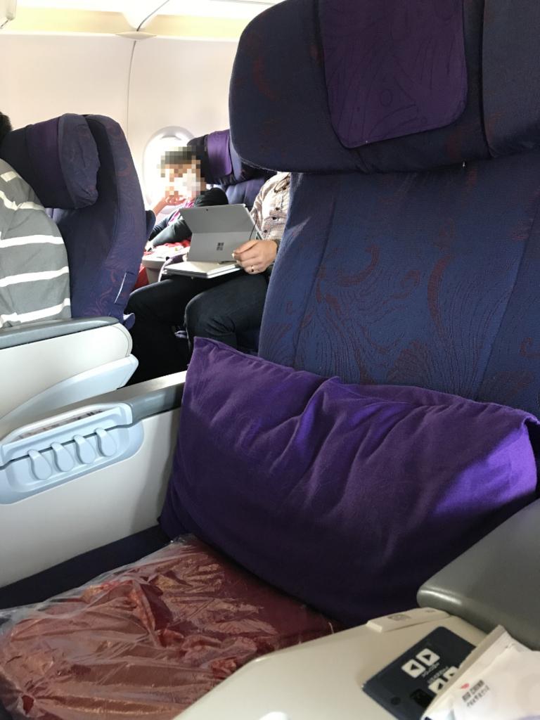 中国国際航空シート2