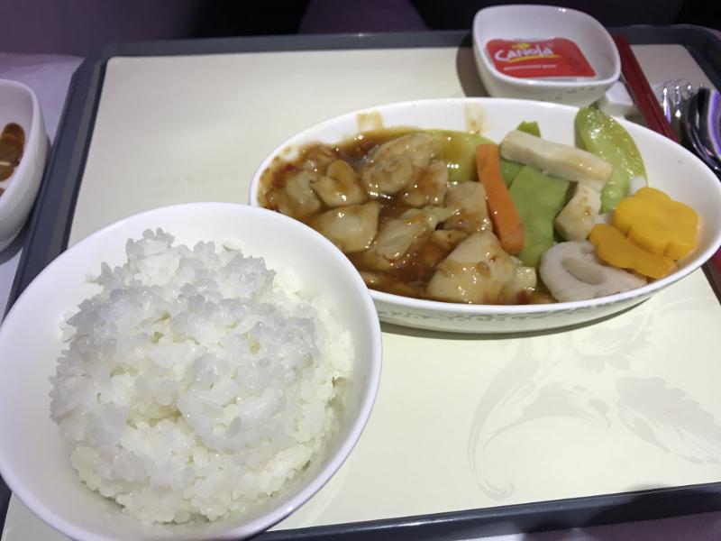 機内食メイン