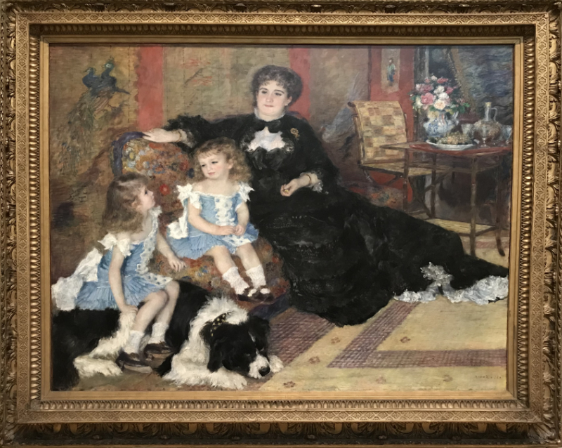 ジョルジュ・シャルパンティエ夫人と子供たち