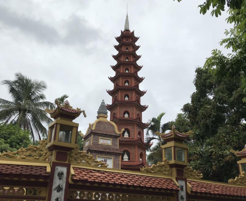 チャンクオック寺仏舎利塔