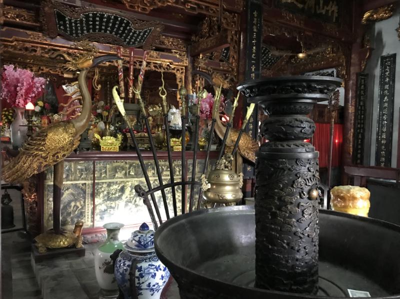 クアンタン寺本堂内部
