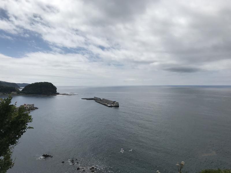 オロンコ岩からの眺望