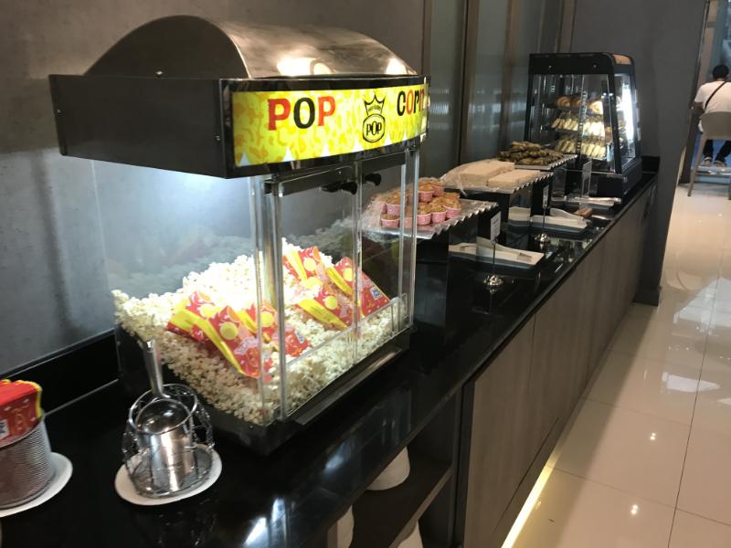 BangkokAirwaysLounge食事