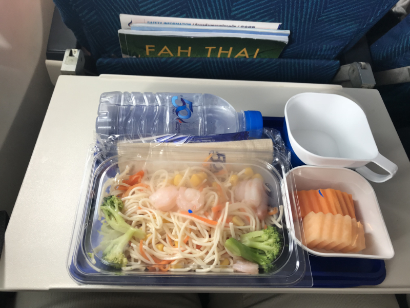 BangkokAirways機内食