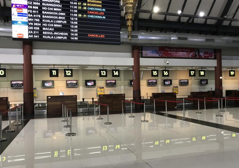 SiemReapInternationAirportCheckIn
