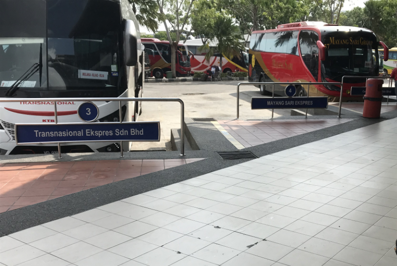 マラッカセントラルバス乗場