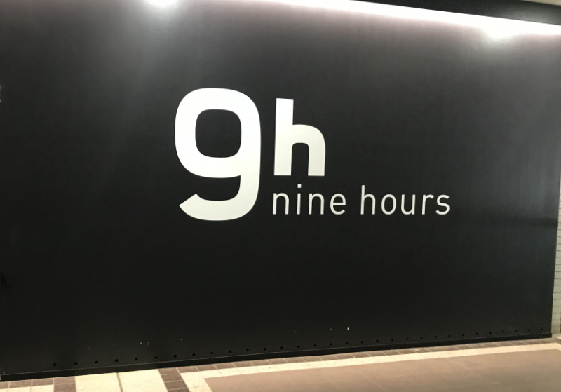 9hours