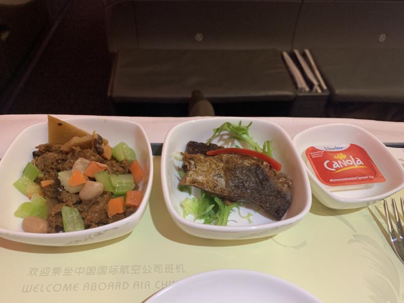 中国国際航空前菜