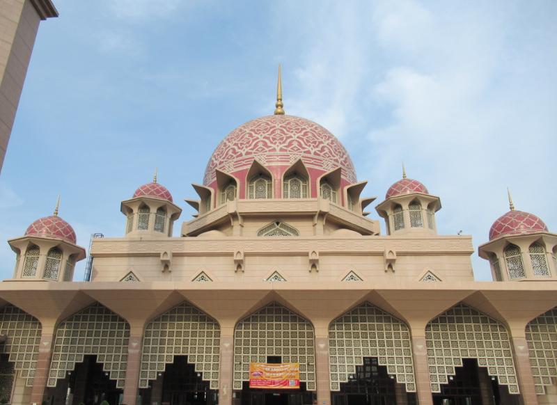ピンクモスクドーム
