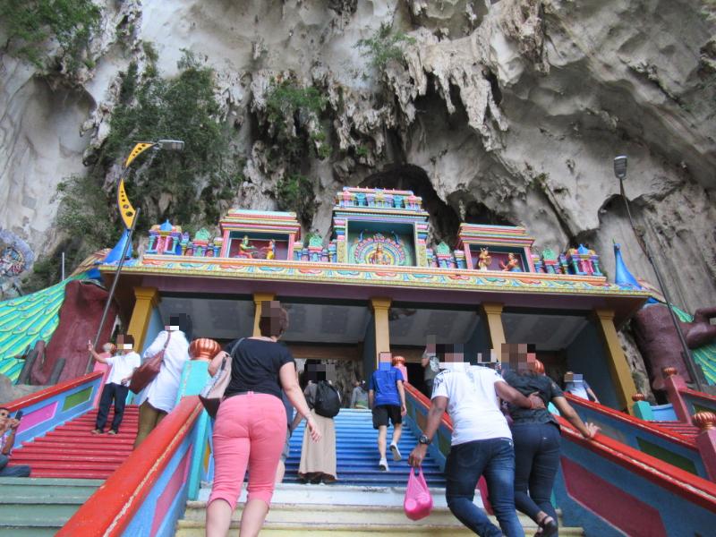 バトゥ洞窟階段3
