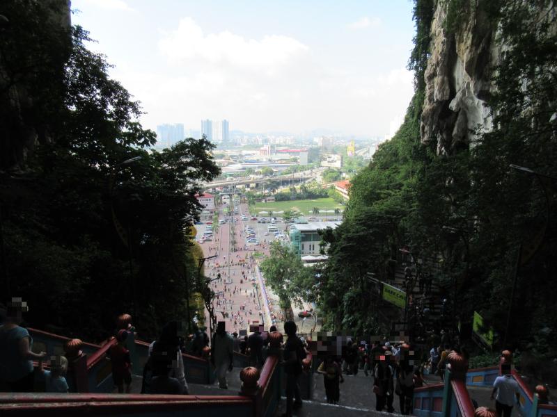 バトゥ洞窟階段4