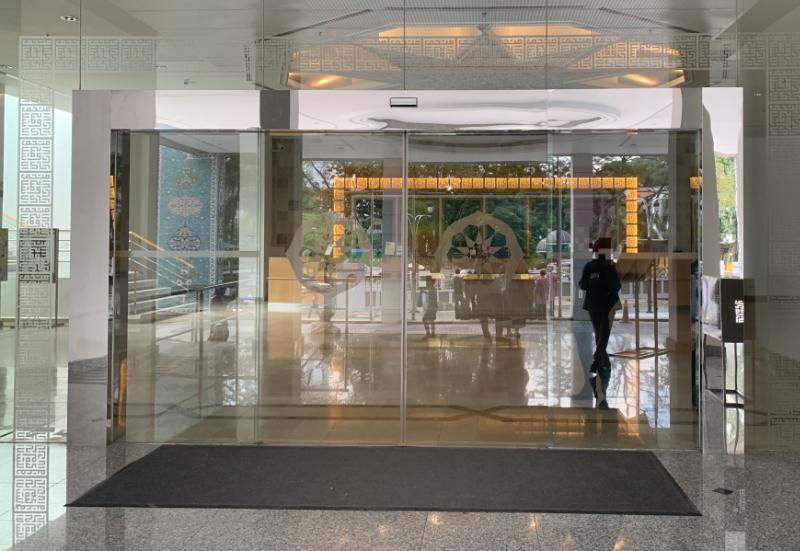 イスラム美術館エントランス
