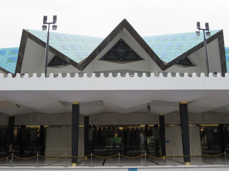 国立モスク屋根