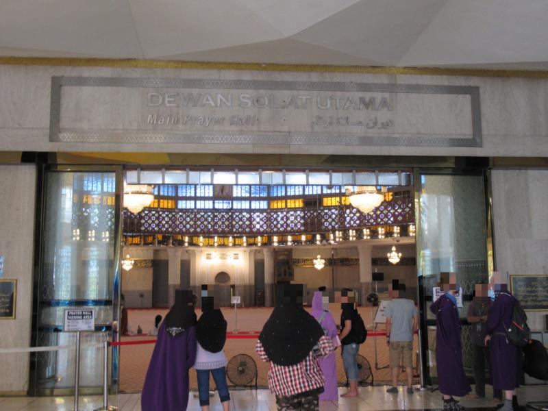 国立モスク礼拝堂