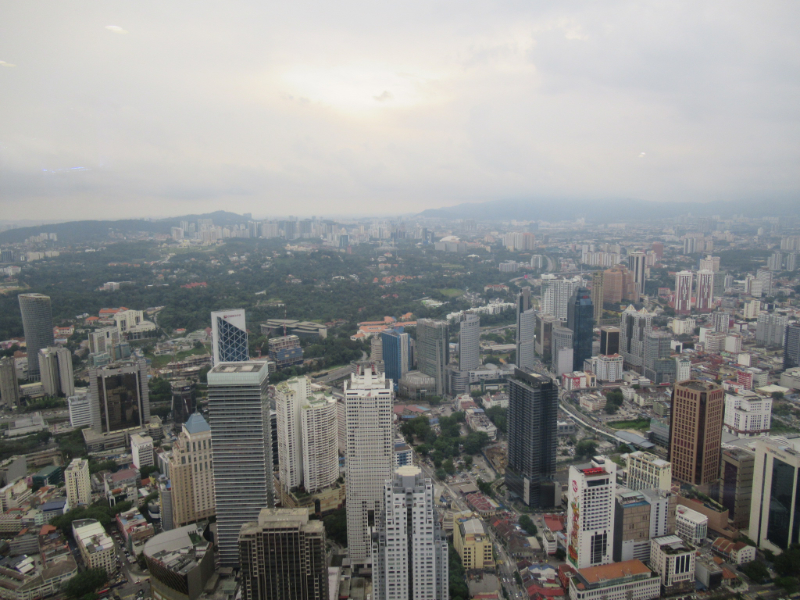 KLタワーからの眺め3