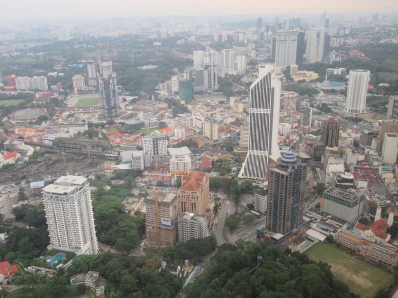 KLタワーからの眺め4